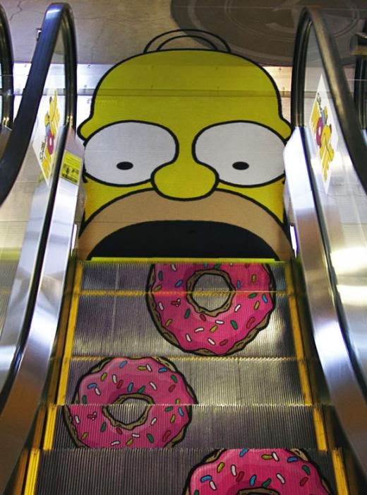 escalators Ads ideas