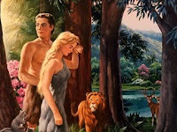 Adao e Eva no Paraiso02 Assistir Desenho Adao e Eva   Ver Desenho Bíblico
