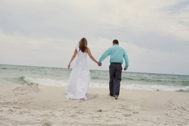 Trash The Dress, Pensacola Beach Beach Florida,