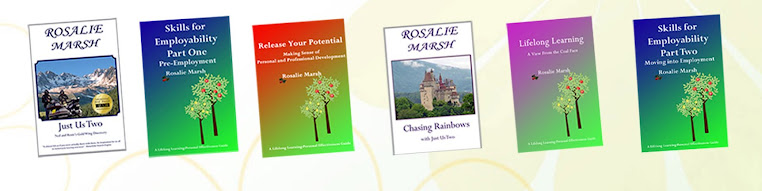 Rosalie's book selection