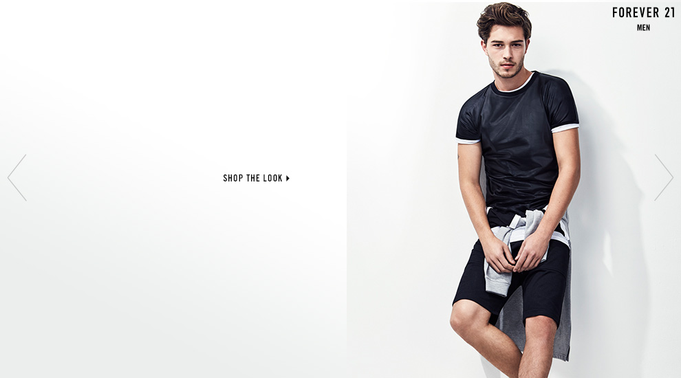 Forever 21 Men 'The Good Sport' Lookbook 2015