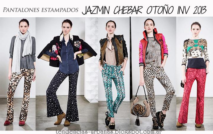 pantalones estampados Jazmin Chebar invierno 2013