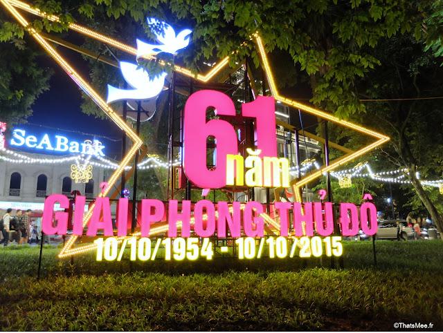 61 annniversaire Hanoi Vietnam