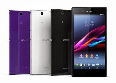 Pilihan Warna Sony Xperia Z Ultra