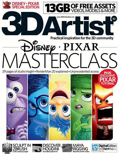 3D Artist Magazine Issue 82 2015