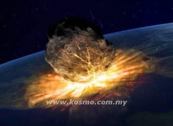 Asteroid akan hentam Bumi pada tahun 2880