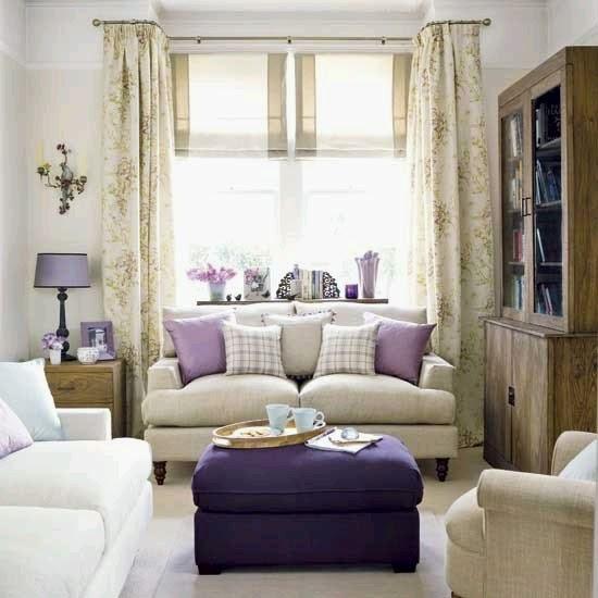 Espacios interiores con toques violeta ideas para for Disenar espacios interiores