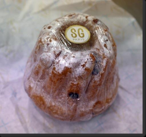 マリーアントワネットのお菓子 クグロフ セバスチャンゴダール