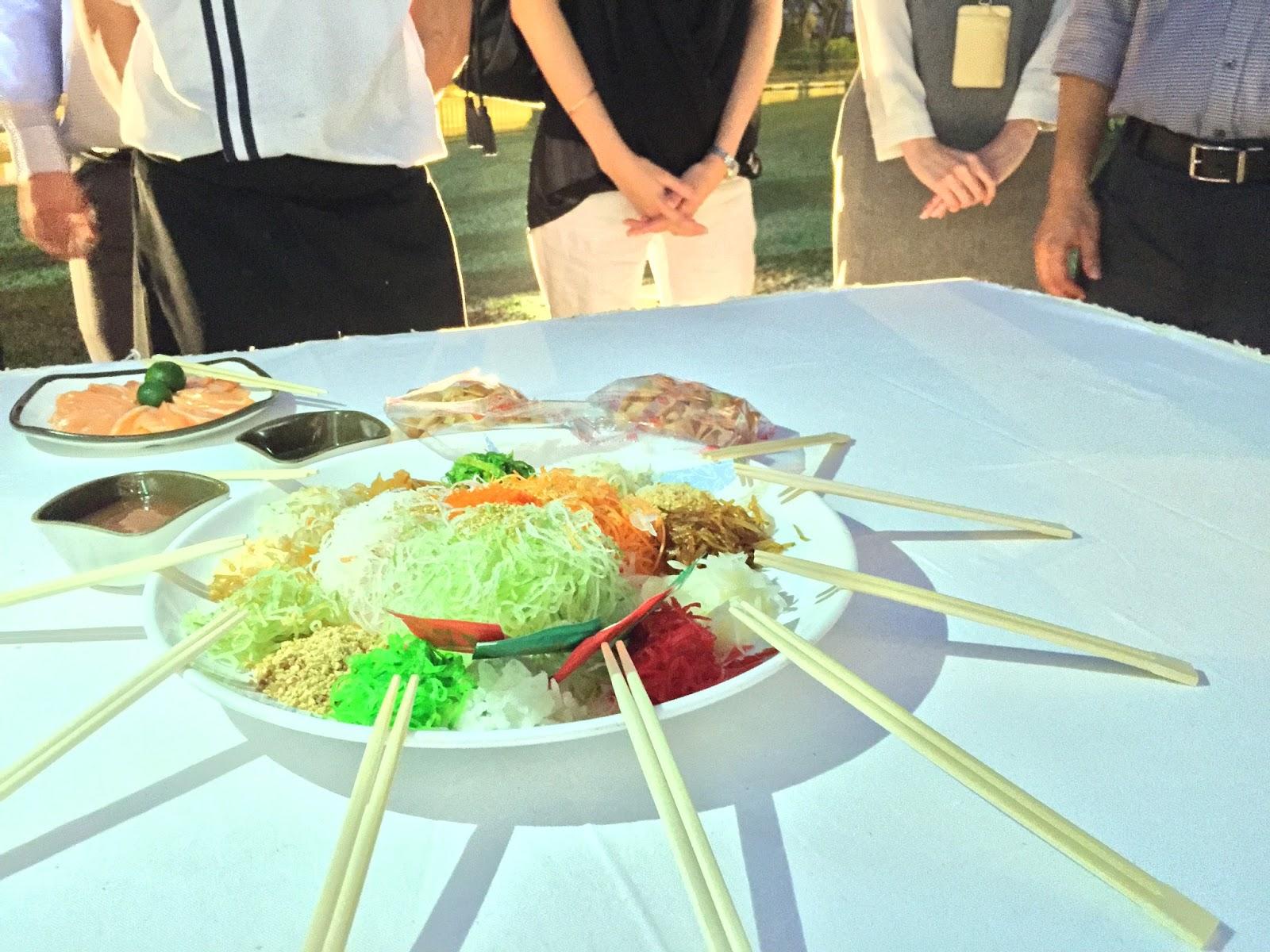 Sakura International Buffet Yu Sheng
