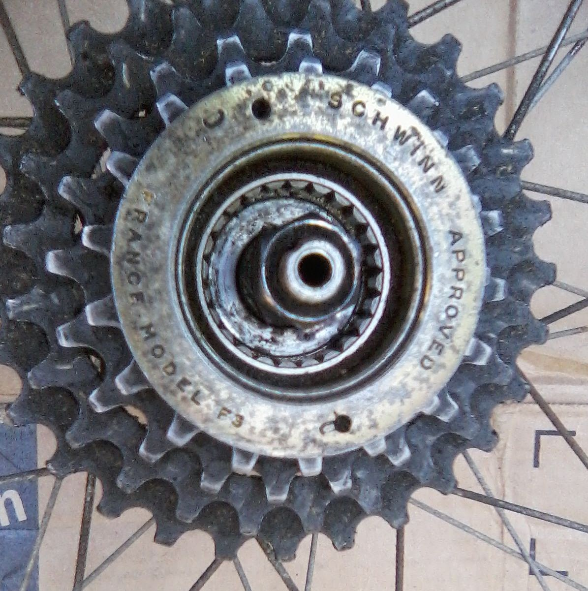 Schwinn+Approved+France+F3+freewheel+pro