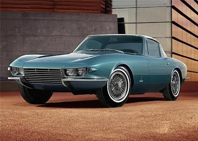 Chevrolet Corvette coupe Rondine concept car