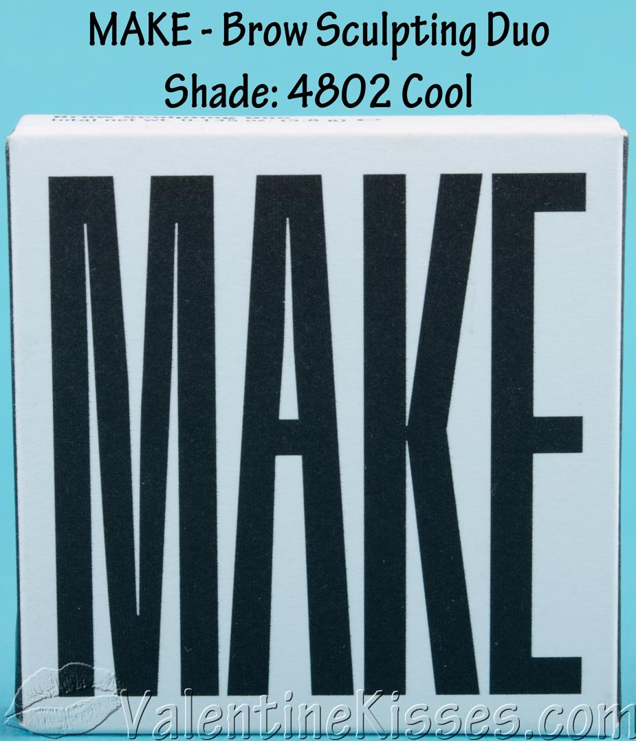 MAKE Brow Sculpting Duo in Cool & Expert Brow Definer Brush#10 - pics