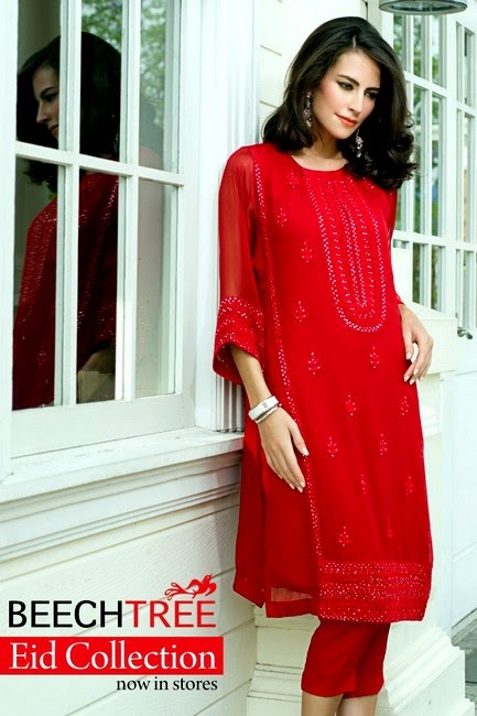 Beech Tree Eid Dress Collection 2014