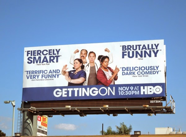 Getting On season 2 billboard