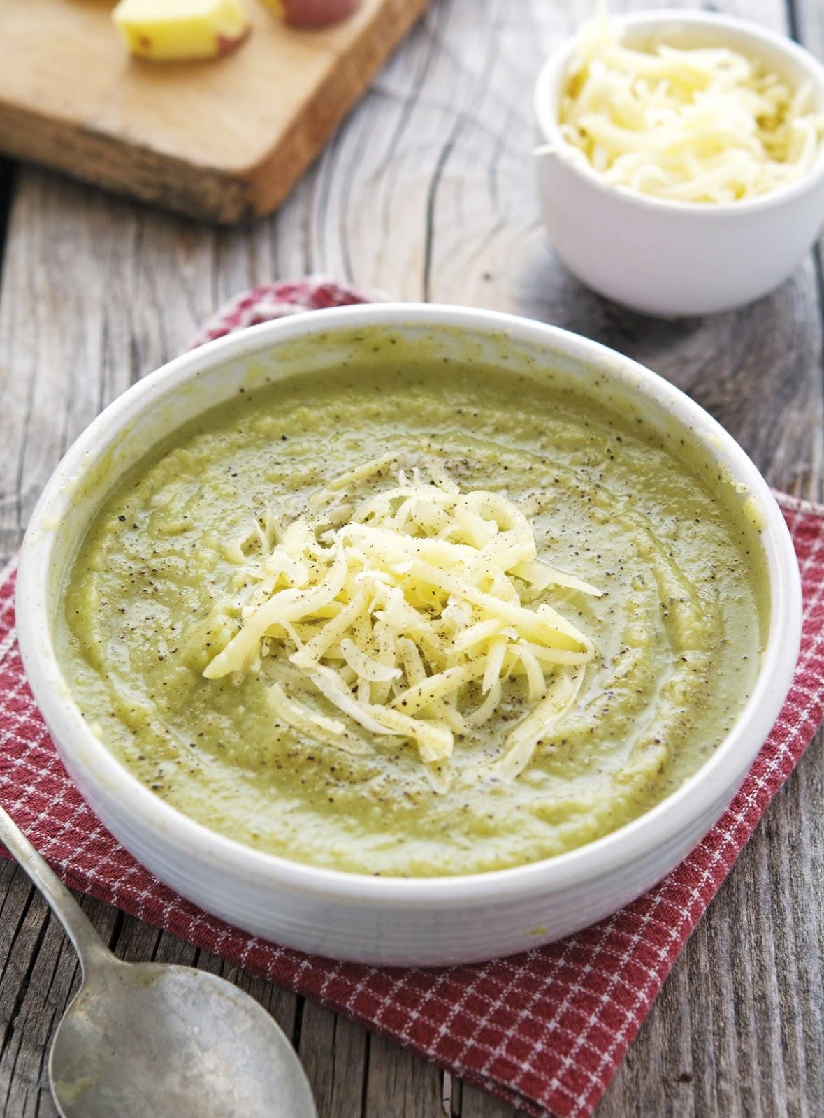 Broccoli and Cheese Mashed Potatoes