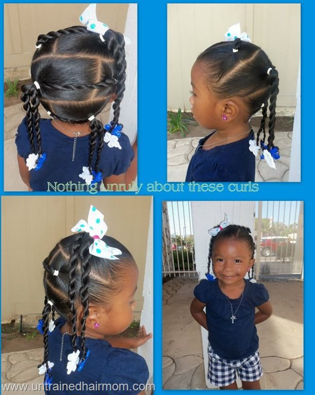 Little Girl Hairstyles  Cute Black Little Girl Hairstyles