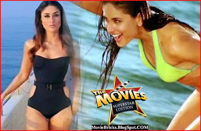 bollywood actress hot kareena kapoor in  bikini