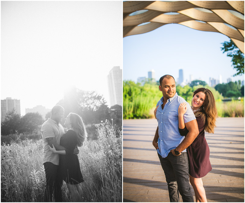 Chicago Lincoln Park Creative Engagement Photo