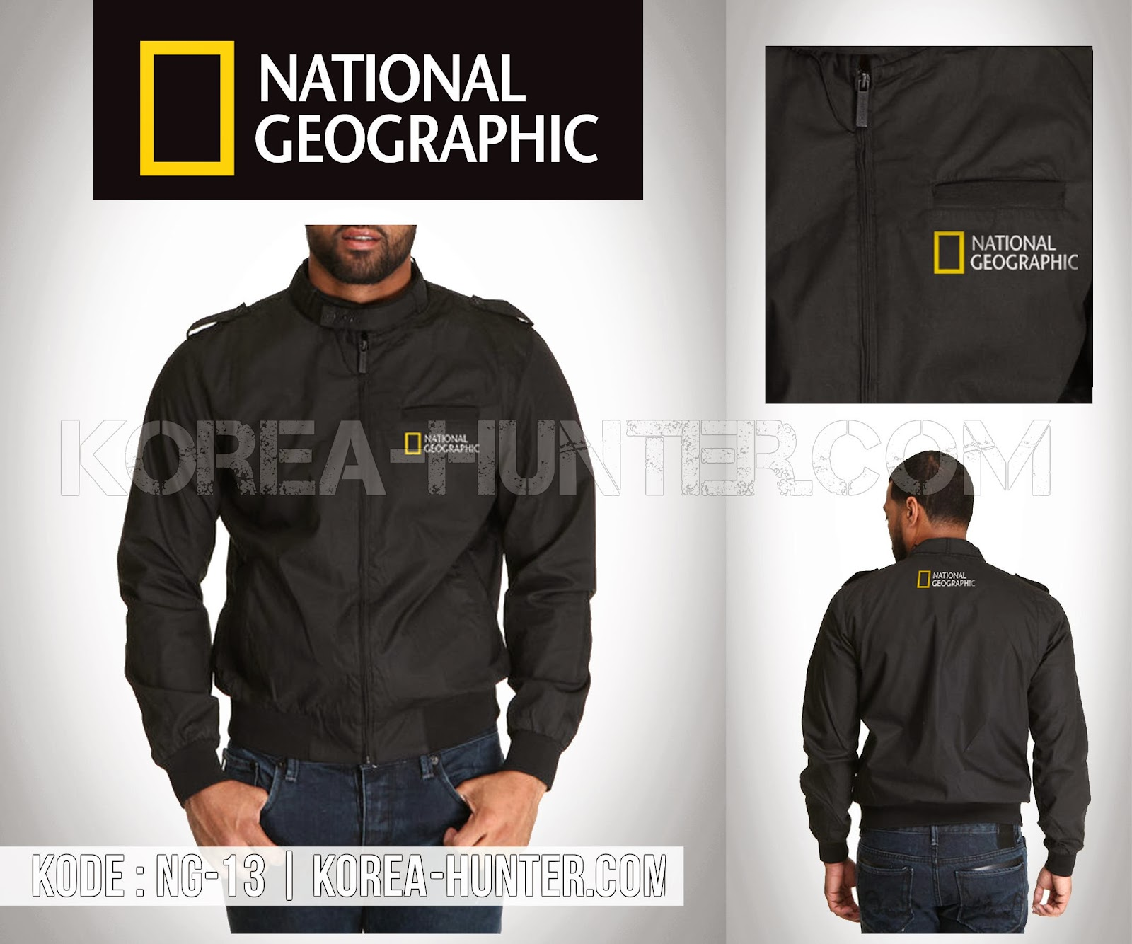 KOREA-HUNTER.com jual murah Jaket National Geographic | kaos crows zero tfoa | kemeja national geographic | tas denim korean style blazer