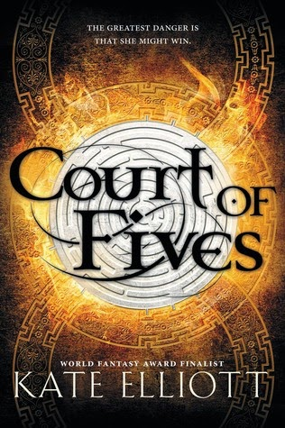 court of fives by kate elliott book cover