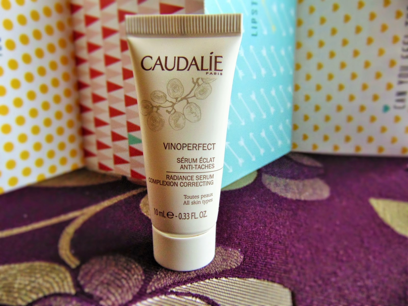 Birch Box February Caudalie vinoperfect serum