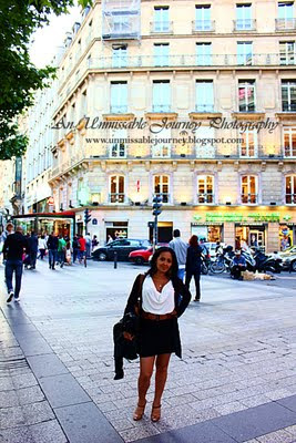 Travel Photos Marjolyn Lago is enjoying her time in Champs-Elysees Paris France
