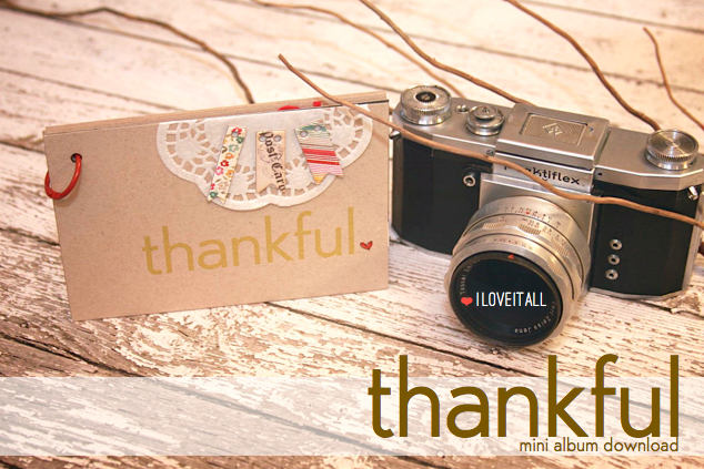 #minialbum #download #gratitudejournal #thankful #scrapbooking #journal #thankfulthursday
