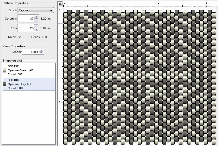 free peyote stitch beading pattern
