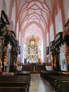 'Sound of Music' Cathedral - Mondsee, Austria