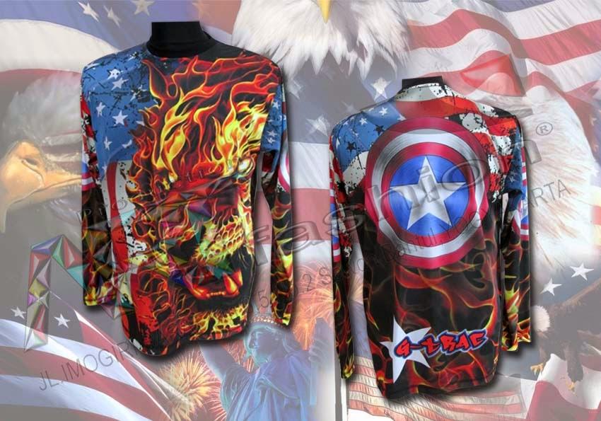 Jersey Tiger Dan Captain America