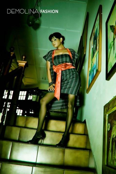 Dinusha Kondadeniya black stocking