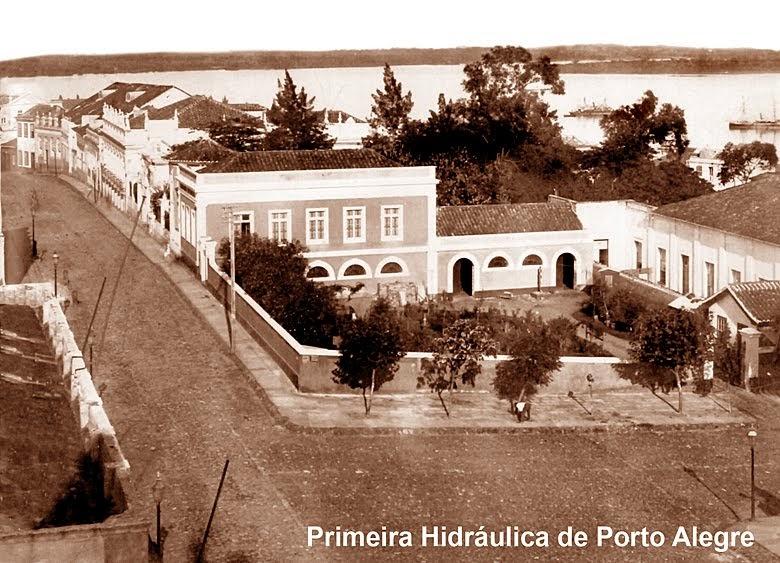 Primeira Hidráulica de Porto Alegre