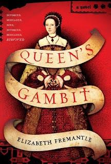 Queens Gambit, Elizabeth Fremantle cover