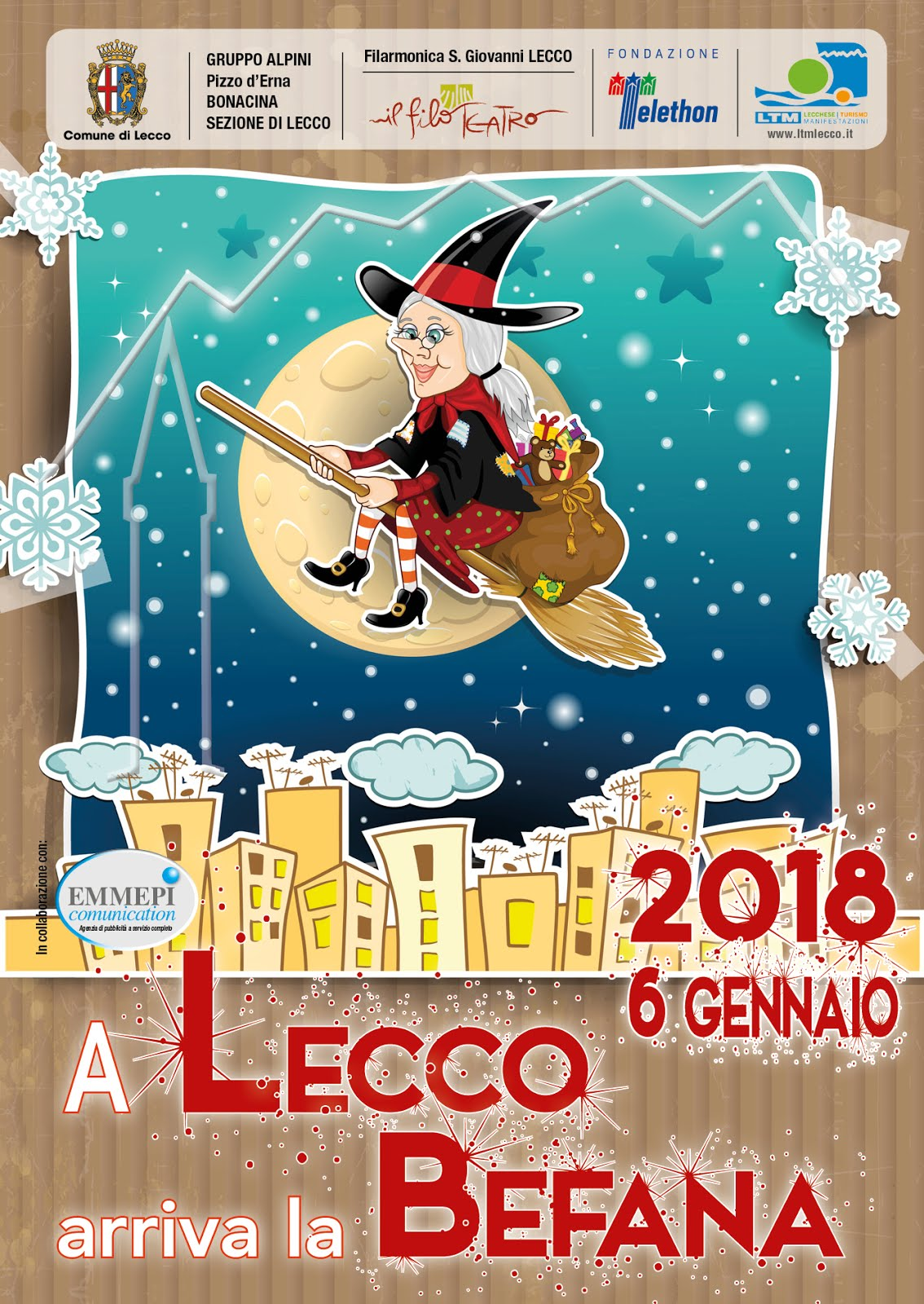 La Befana a Lecco