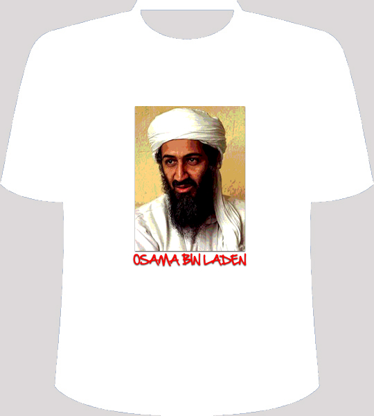 Osama Bin Laden Collections T Shirts Design