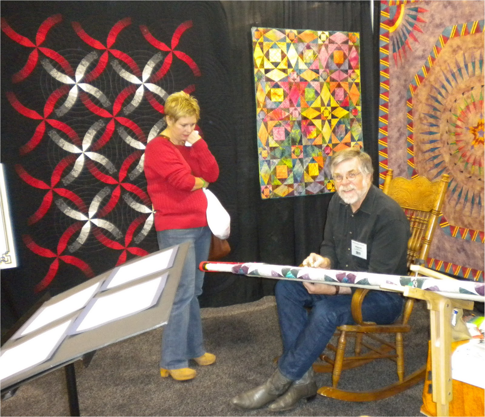 Quilting At Windmills 2011