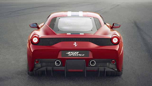 Ferrari 458 Speciale V8 rear