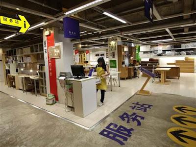 Kunming Fake Ikea Store