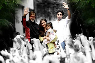 Aaradhya Bachchan snapped outside Jalsa!