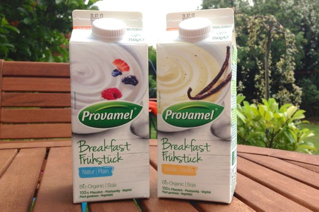 Provamel Breakfast Pouring Yoghurts