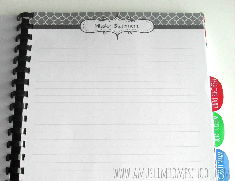 a muslim homeschool: School Planner 2015-16 for home-educaters and ...