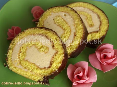 Karamelová roláda - recepty