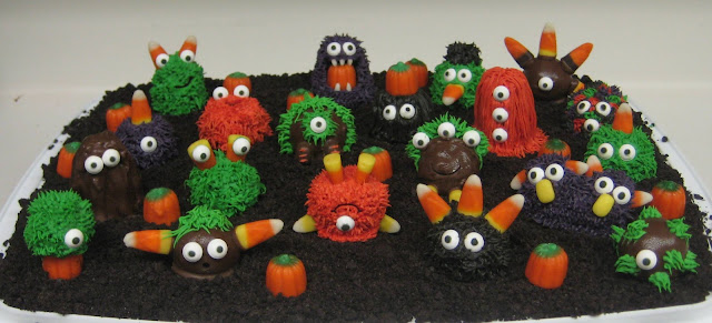 Halloween Little Monster Cake Balls 2