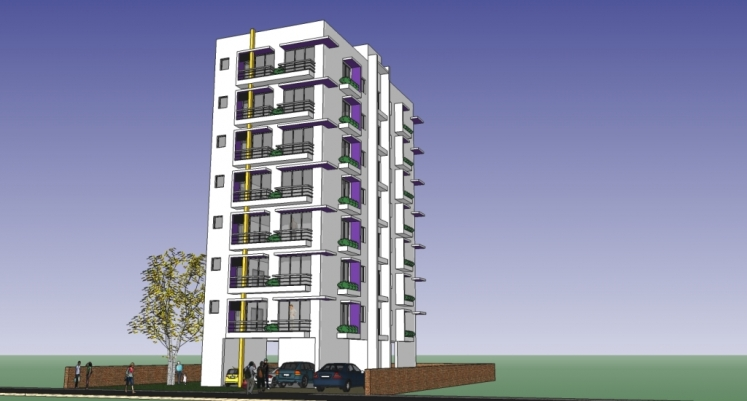 Small Apartment Building Design