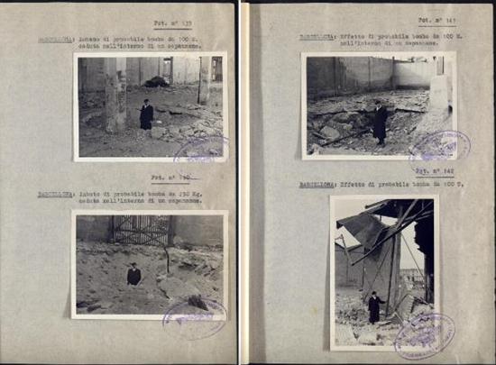 La Guerra Civil com a laboratori de proves: Informe sobre els efectes dels bombardeigs italians