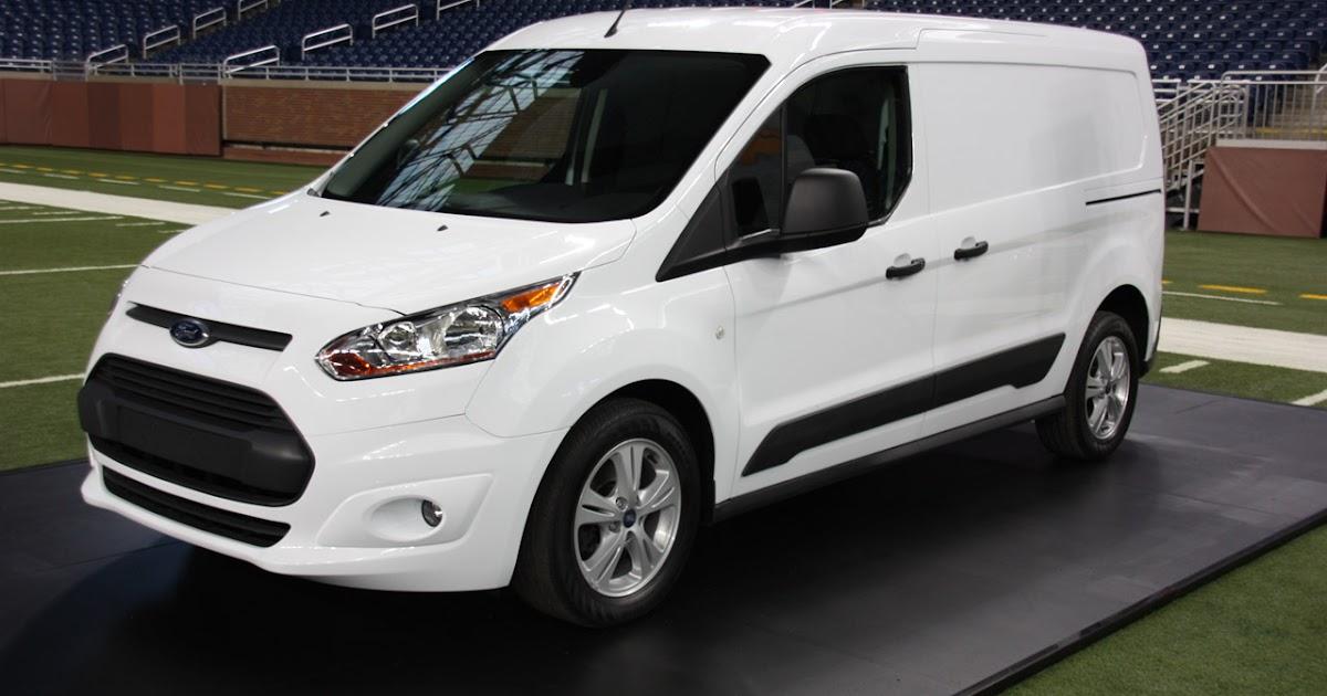 Ford Transit Van >> Bil og Motorbloggen: Nyheter: Ford Transit Connect