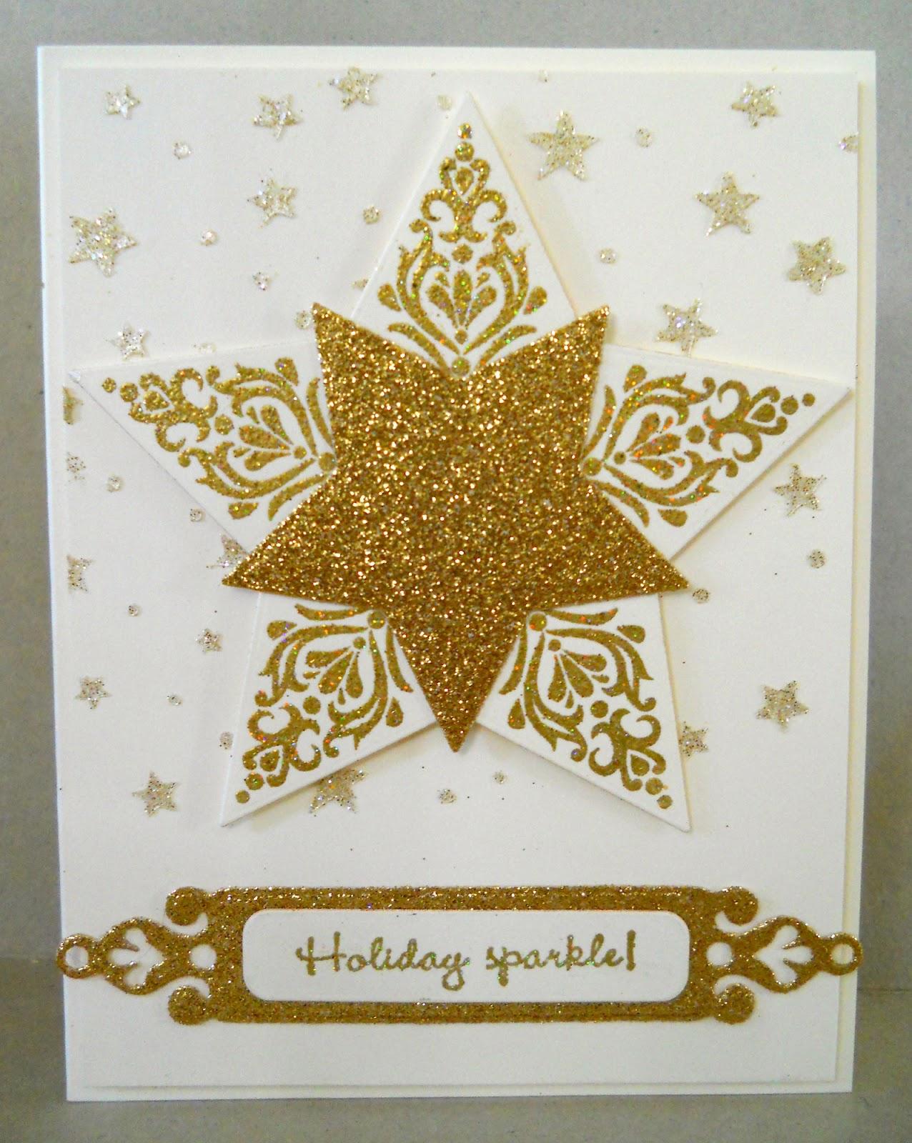 Cardmakers Garret Sparkling Stars