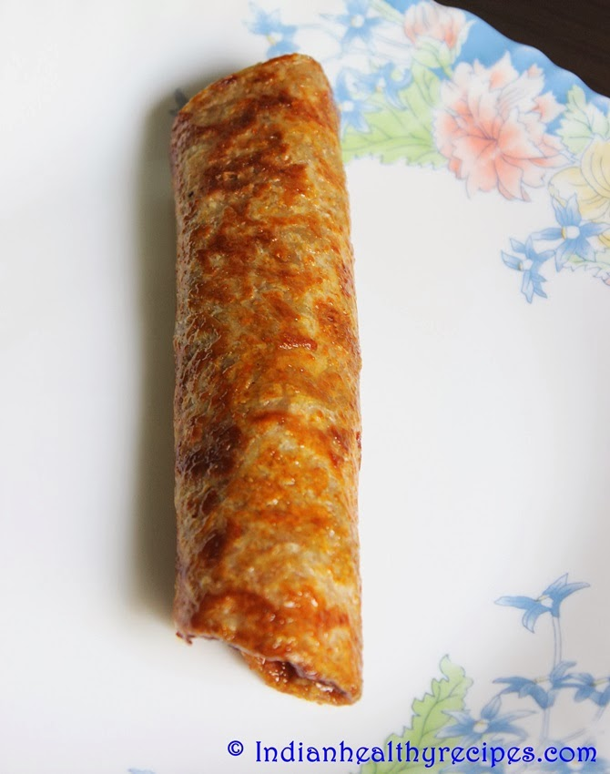 Sweet Paratha Rolls – Kids Healthy Breakfast, Lunch Box Recipe