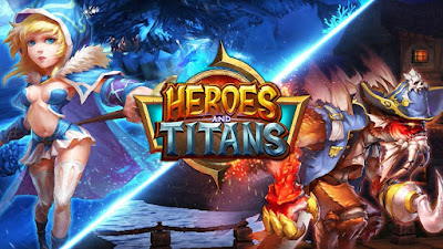 Heroes and Titans v1.6.0 3D MOD Apk + Data Android
