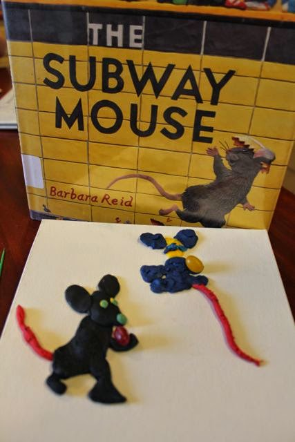 Barbara Reid plasticine activity via www.happybirthdayauthor.com